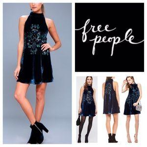 🆕Free People Jill's Sequin Swing Mini Dress. NWOT
